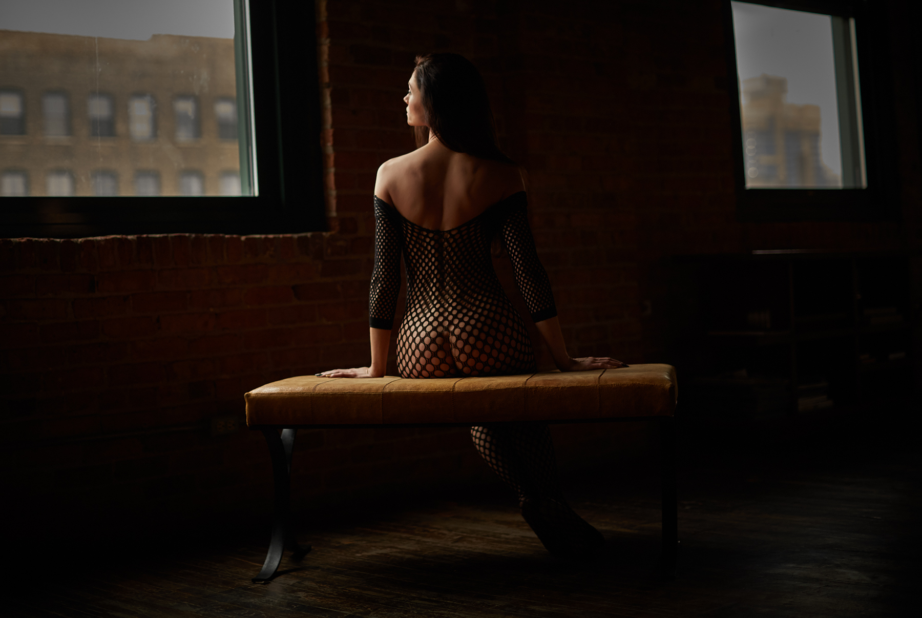 Natural Light Boudoir Photography - Chicago