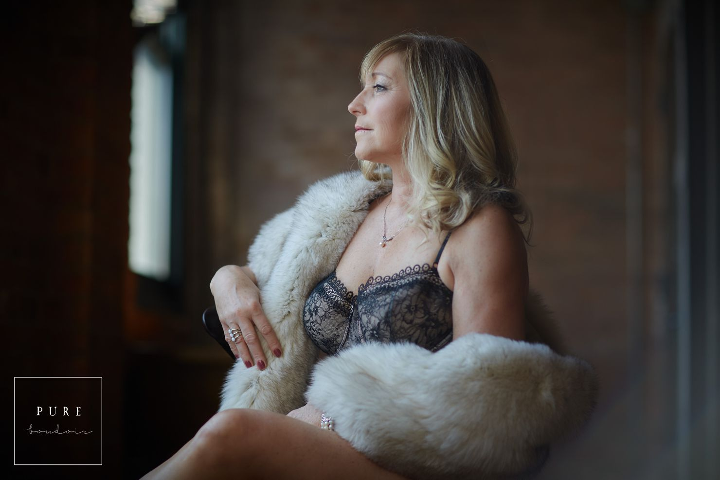 Middle Age Boudoir Session - Beautiful At Any Age.